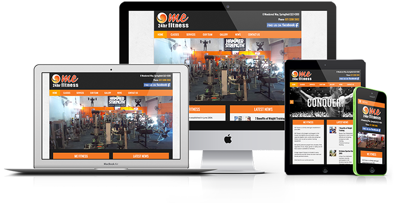 mefitness-website-design