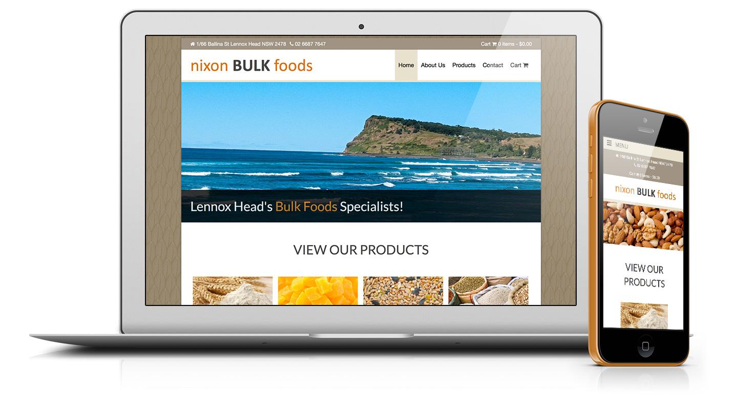 nixonbulkfoods-website-design-lismore-ballina-byronbay