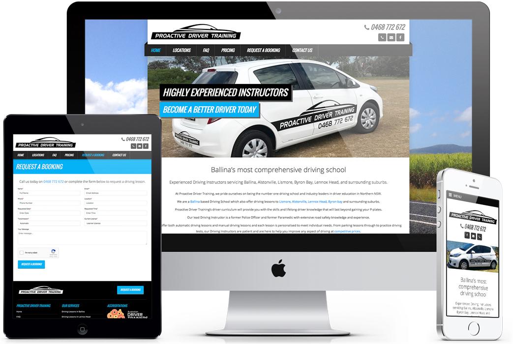 website-design-ballina-byron-bay-lismore-proactive-driver-training-robert-mullineux-portfolio