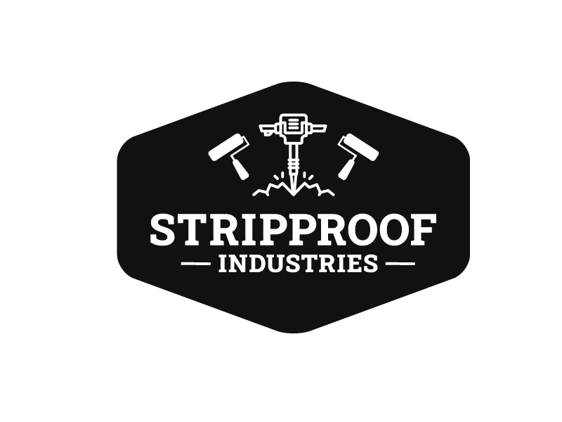 stripproof-industries-logo-graphic-design-byron-bay-ballina-robert-mullineux