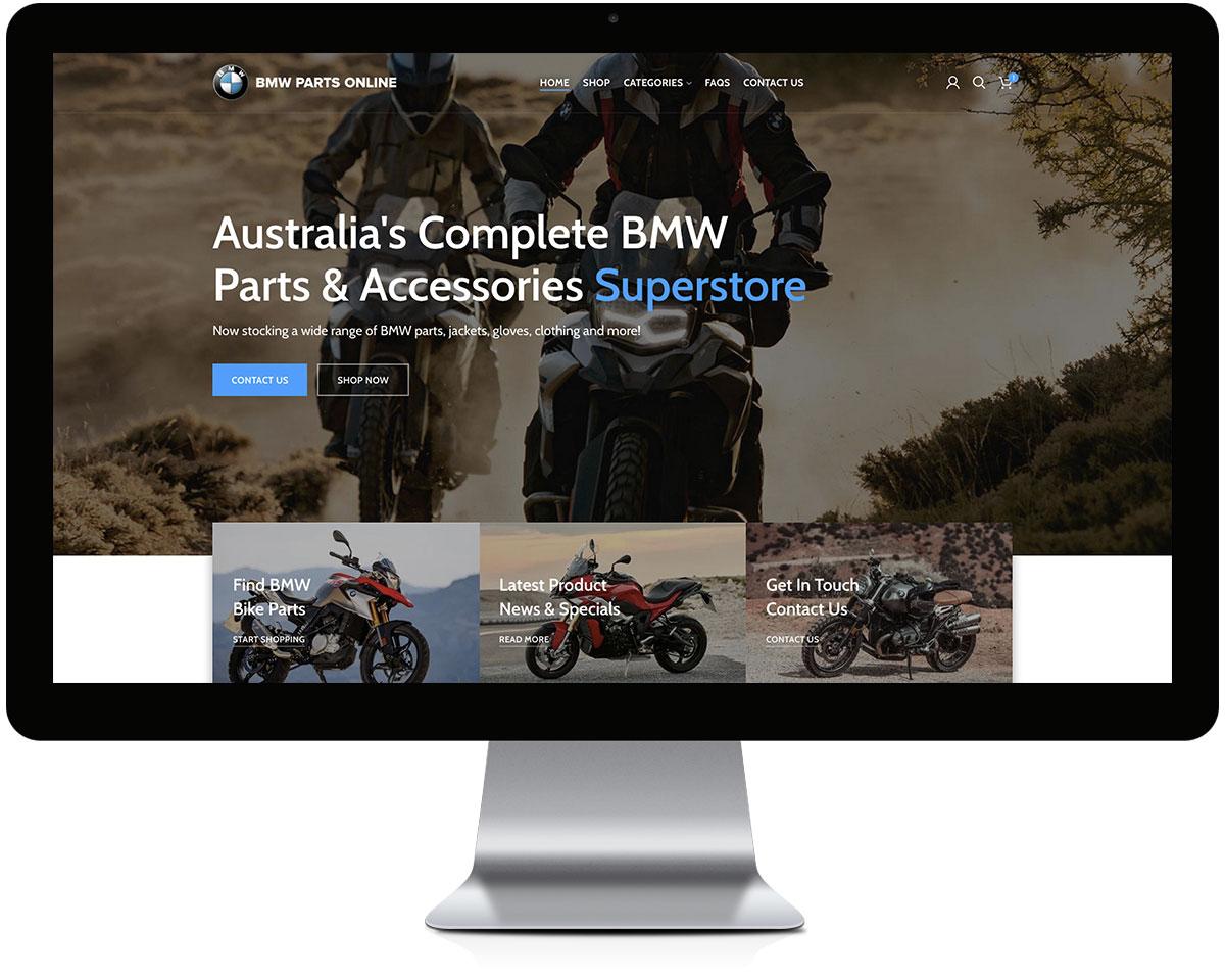 Portfolio - Website Design - BMW Parts Online 02 Gallery - Robert Mullineux