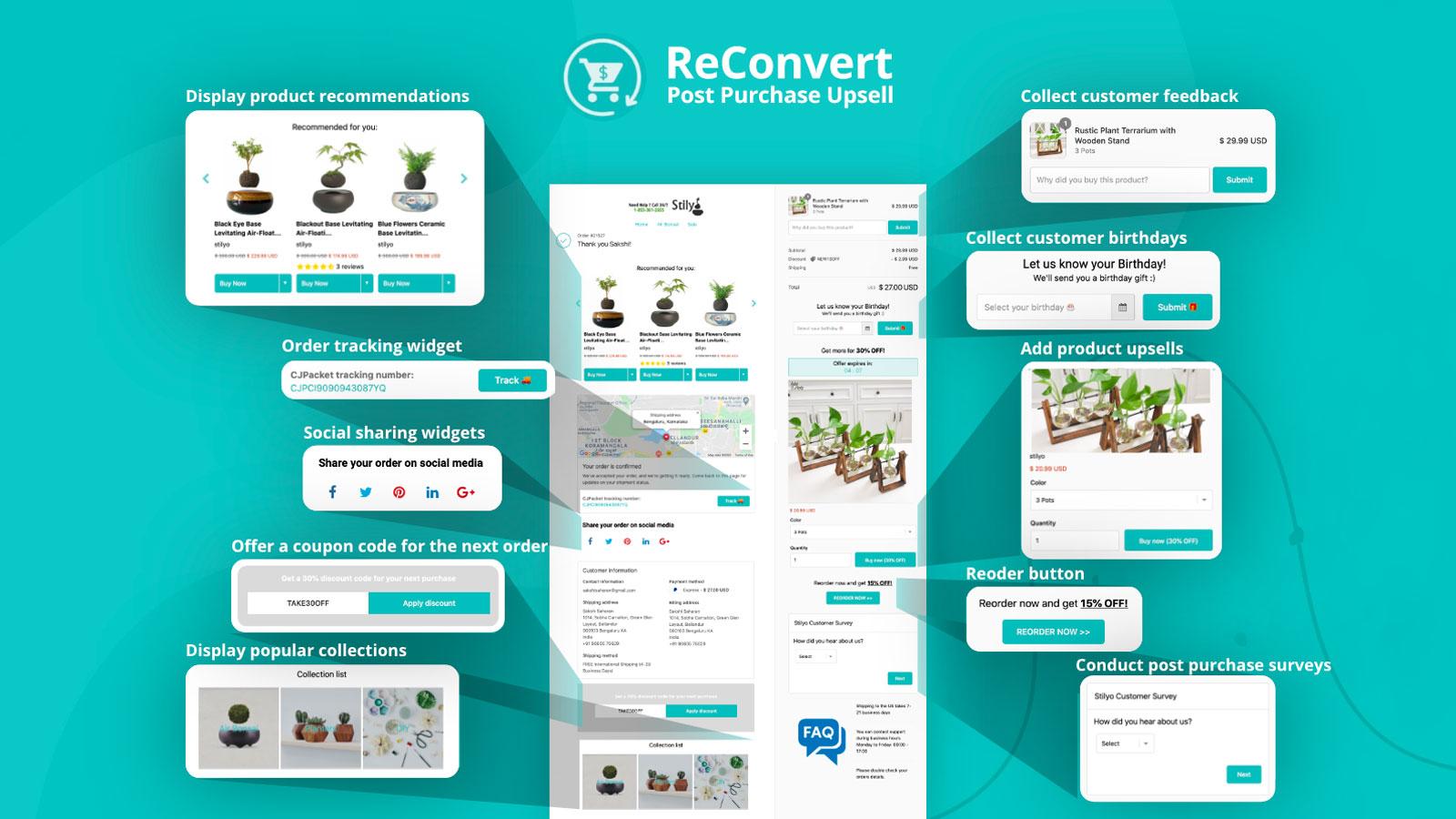 Best Upsell Shopify Apps - ReConvert - Robert Mullineux 2020